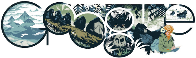 http://www.google.com/doodles/dian-fosseys-82nd-birthday
