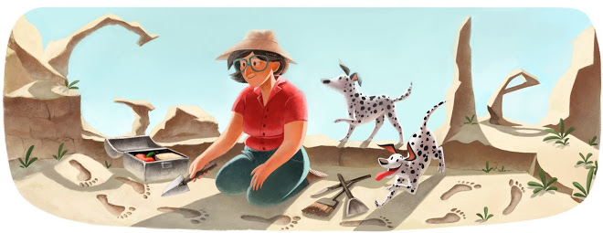 http://www.google.com/doodles/mary-leakeys-100th-birthday