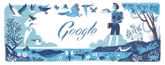 http://www.google.com/doodles/rachel-louise-carsons-107th-birthday