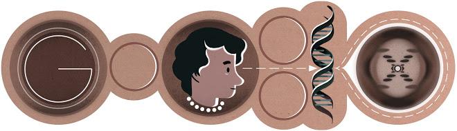 http://www.google.com/doodles/rosalind-franklins-93rd-birthday