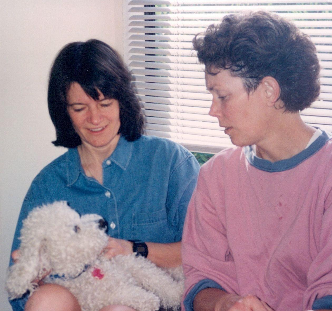 Sally Ride y Tam O'Shaughnessy